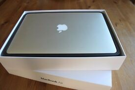 MacBook Air 13inch (2015) with box and 11 months Apple warranty