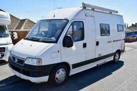 Trigano Tribute High Top Motorhome for Sale Two Berth Tree Seatbelts Awning