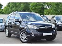 HONDA CR-V EX 2.2 CDTI DIESEL [138 BHP] MANUAL 5DR 4X4 2008 [57] BLACK