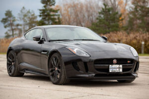 2016 Jaguar F-Type S - AWD Sports Coupe 3L Supercharged V6! Cert