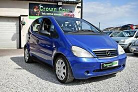 Mercedes-Benz A170 1.7D CDI Classic 2000 REG BLUE +LADY OWNER 11 YEARS+