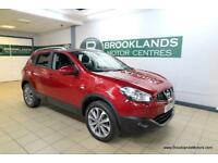 Nissan Qashqai 1.6 16v N-TEC [5X NISSAN SERVICES, SAT NAV, PANORAMIC ROOF and RE