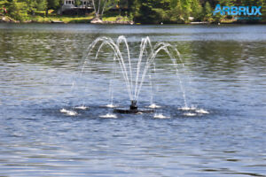 Arbrux 1/2 HP Floating Pond Fountain