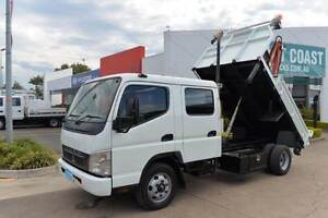 MITSUBISHI CANTER FE ** DUALCAB ** TIPPER ** #4921 Archerfield Brisbane South West Preview