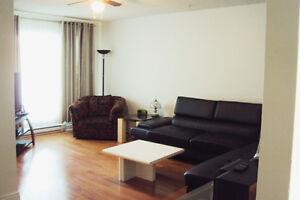 Logement spacieux type 5 1/2 meublé fonctionnel de transit