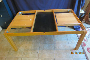 COFFEE TABLE MADE IN DENMARK-SLATE AND LIFT TOP! West Island Greater Montréal image 2
