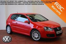 2008 Volkswagen Golf 2.0TDI GT Sport-FULL LEATHER-HEATED SEATS-PARKING SENSORS-