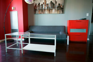 Moving Sale! Bed frame_mattress_ lamp_sofa Everything Must GO!