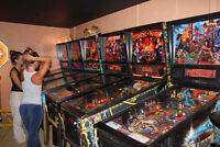 used and new pinball machines available