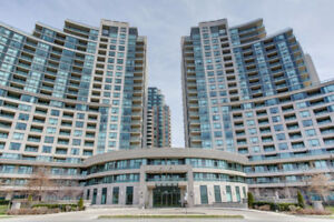 Master bedroom for rent in luxury condo at Yonge/Finch