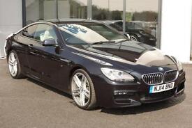 2014 BMW 6 Series 3.0 640d M Sport Coupe Auto 2dr