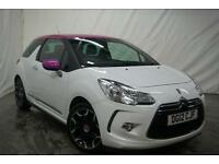 2012 Citroen DS3 DSTYLE Petrol white Manual