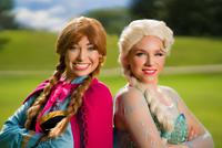 Princess Movie Night!! With Anna and Elsa!