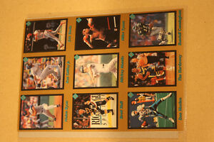 Mike Tyson Brett Hull Nolan Ryan Dan Marino Ken Griffey Jr cards
