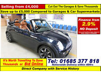 2008 - 08 - MINI COOPER 1600 SIDEWALK CONVERTIBLE CONVERTIBLE (GUIDE PRICE)