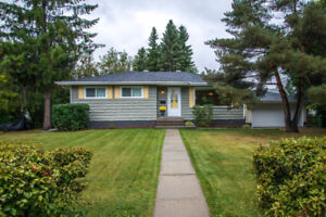 ST.ALBERT BUNGALOW WITH INLAW BASEMENT SUITE