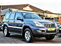 2003 Toyota Land Cruiser Amazon 4.0 VVT-i V6 LC5 5dr Petrol silver Automatic