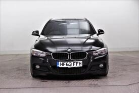 2013 BMW 3 Series 320D M SPORT TOURING Diesel black Automatic