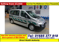 2010 - 10 - CITROEN DISPATCH 1.6 HDI 90 5 SEAT DISABLED ACCESS BUS (GUIDE PRICE)