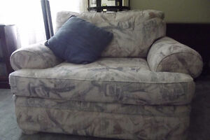 Chesterfield and oversize chair- good, used condition