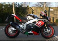 APRILIA RSV4 RF (15MY) OHLINS SUSPENSION SUPER POLE COLOURS APRILIA FACTORY