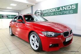 BMW 3 SERIES 320d M SPORT Auto [2X BMW SERVICES, SAT NAV, LEATHER, HEATED SEATS