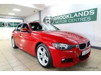 BMW 3 SERIES 320d M SPORT Auto [2X BMW SERVICES, SAT NAV, LEATHER, HEATED SEATS