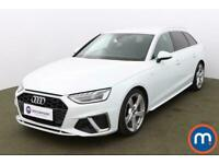 2020 Audi A4 35 TFSI S Line 5dr S Tronic Auto Estate Petrol Automatic