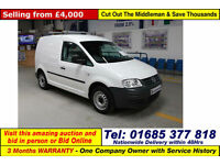 2010 - 60 - VOLKSWAGEN CADDY 2.0SDI 69PS VAN (GUIDE PRICE)