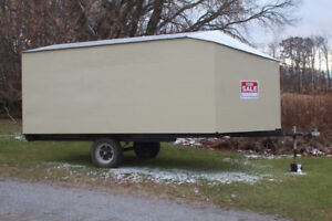 Enclosed Single Axle Trailer