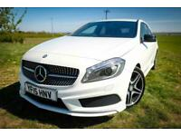 2015 Mercedes-Benz A Class A180 CDI AMG Night Edition 5dr 6spd 2 owners 58837 mi