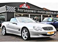 2002 Mercedes-Benz SL 5.0 SL500 2dr Petrol silver Automatic