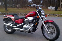 2006 HONDA SHADOW VT 600 VLX  TOP CLEAN !! 3500$ PRIX FIN SAISON