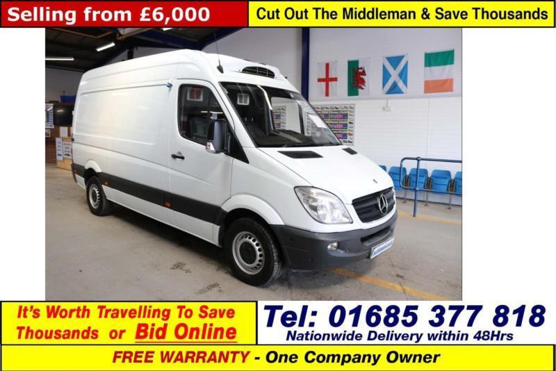 40b5471189 2010 - 60 - MERCEDES SPRINTER 313 2.2CDI MWB HIGH TOP INSULATED FRIDGE VAN
