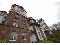 Stunning historic one bedroom apartment with fantastic open views overlooking Princes Street.