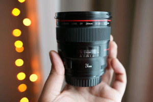 Canon 24Lii 1.4 Lens // Priced to Sell!!
