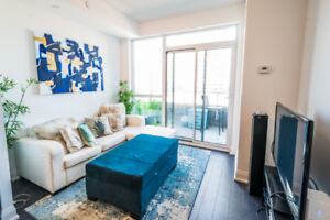 High Demand Lakeshore/Parklawn Condo Unit for LEASE 1+1 Bed