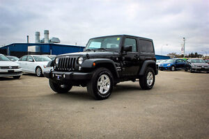2016 Jeep Wrangler Sport Only 485kms!!