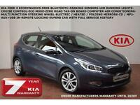 2013 Kia ceed 1.6CRDi (126bhp) 2-BLUETOOTH-PARKING SENSORS-ZERO ROAD TAX-F.S.H.