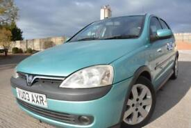 VAUXHALL CORSA SXI 1.2 16V 5 DOOR*ONE LADY OWNER*LOW MILEAGE*JUST 50K MILES*