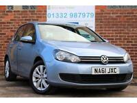Volkswagen Golf 1.6 TDI 105ps DSG Match Diesel Automatic 5 Door Hatchback Blue