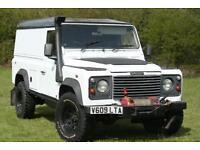 Land Rover Defender 110 Td5 Hard Top