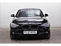 2013 BMW 1 Series 116D SPORT Diesel black Automatic