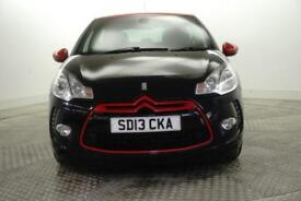 2013 Citroen DS3 E-HDI AIRDREAM DSPORT RED Diesel black Manual