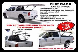 PICK UP TRUCK FLIP ROOF RACK