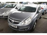 2007 Vauxhall Corsa 1.4i Design MOTED SPARE KEY LADY OWNERS