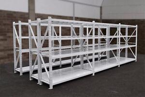 Heavy Duty Garage/Warehouse Steel Shelving Units