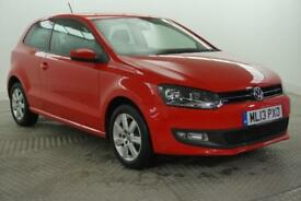 2013 Volkswagen Polo MATCH EDITION Petrol red Manual