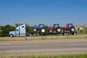 Looking to transport heavy equipment and farming equipment ?