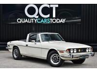 1977 Triumph Stag V8 Automatic Original Classic White Just 5 Former Keepers